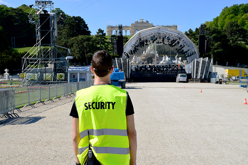 Cost Hiring Security For Event in Portsmouth Hampshire